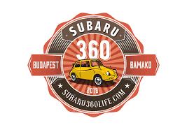 subaru rally logo send your love to africa budapest bamako with subaru 360