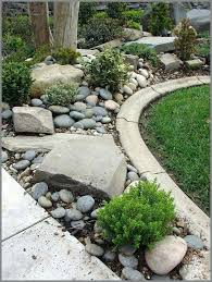 River Rock Garden Bed River Rock Garden Bed Junipers Boxwood And Give This River