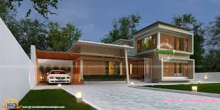 car porch 3420 sq ft true contemporary home kerala home design bloglovin u0027
