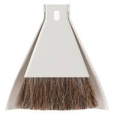 desk broom set with dustpan