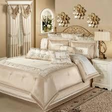 bed cream bedding set home design ideas