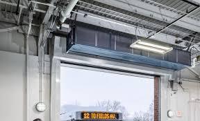 Overhead Door Heaters Berner International 1 For Air Curtains Air Doors
