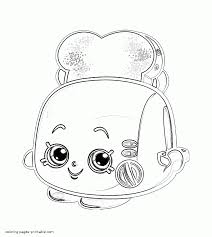 shopkins colouring pages free angie ankle boot