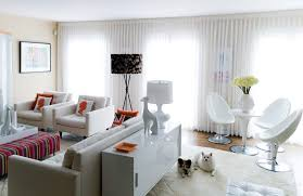 cute family room living room contemporary with modern table off