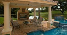 Cabana Ideas For Backyard Outdoor Cabanas Designs Close Up View Of The Cabana Included In