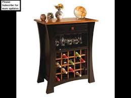 Wine Cabinets Bars And Wine Racks Designs YouTube - Kitchener wine cabinets