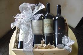gift baskets with wine wine gift baskets at marche bacchus