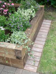 Greenes Fence Raised Beds by Edging Plastic Fencing Greenes Fence Quick Easy Premium Cedar