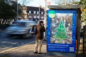 homebase uses interactive 3d outdoor christmas tree advert to