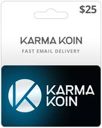 digital gift cards 25 karma koin gift card code online email delivery