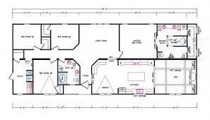 Floor Plan With 4 Bedrooms by 4 Bedroom Floor Plan K 3241 Hawks Homes Manufactured