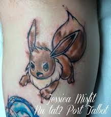 eevee water colour tattoo by jessicamisfit on deviantart