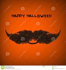 halloween portrait background vector pumpkin portrait with mustache for cartoon vector