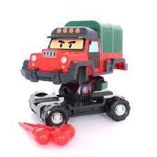 robocar poli transformation robot car poacher missile