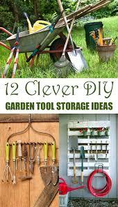Diy Garden Tool Storage Ideas Clever Diy Garden Tool Storage Ideas