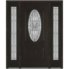 front door glass finished doors with glass fiberglass doors the home depot