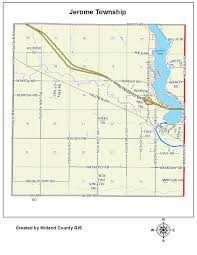 Michigan Township Map by County Of Midland Michigan U003e Equalization U003e Tax Maps U003e Jerome