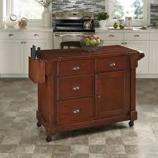cherry kitchen island cart the aspen rustic cherry kitchen cart with storage kitchen carts