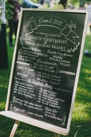 wedding program chalkboard southern wedding ceremonies archives southern weddings