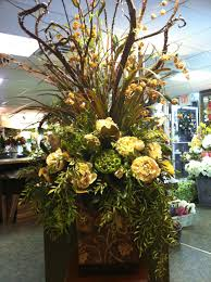 Fall Centerpieces With Feathers by Large Silk Floral Arrangement Floral Designs Pinterest Silk