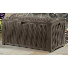 Wicker Storage Bench Top 13 Outdoor Storage Bench Options For Practical Style