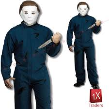 michael myers costume character michael myers costume and mask party men