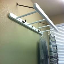 Drying Racks For Laundry Room - laundry room drying rack my dad made the ladder and mounted it