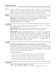 It Support Resume 100 Resume It Professional Homey Design Resume Templates