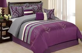 Purple And Gray Comforter Purple Shams Bedding Camo Bedding And Bed Linen Gallery