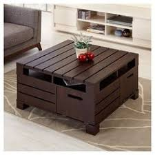 shipping crate coffee table an old shipping crate turned into a coffee table no es una