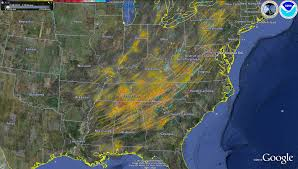 Us Dewpoint Map Dacula And Gwinnett County Weather April 27th And 28th 2011