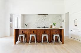 white kitchen wood island 100 beautiful kitchens to inspire your kitchen makeover