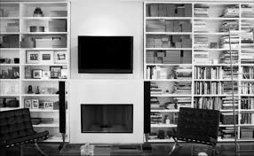 decorating for library home decor white large stylish design