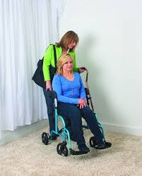 Mobi Electric Folding Wheelchair By by Juvo Mobi Folding Rollator Transport Chair Caregiver Travel