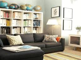 Cream Colored Sectional Sofa by Lounge Shelving Ideas World Market Round Rug Large Trays For