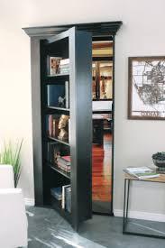 rotating bookcase for your home hidden door store