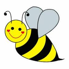 bee clipart bumble bee bee clipart image brightly colored honey bee on