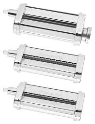 Kitchenaid Mixer Accessories by Amazon Com Kitchenaid Ksmpra 3 Piece Pasta Roller U0026 Cutter