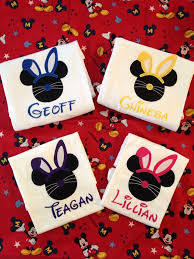 Design For T Shirt Ideas Disney Easter Personalized Name Vinyl Design For T Shirts Or