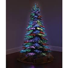 christmas trees and lights the thousand points of light tree hammacher schlemmer