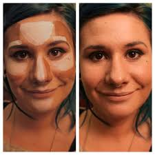 how to highlight and contour for your face shape