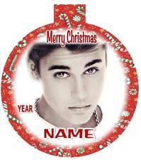 justin bieber ornament ebay