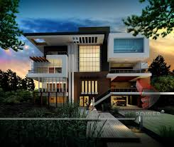villa style homes modern contemporary design picture note house