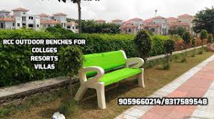 Outside Benches For Schools Rcc Outdoor Cement Garden Benches In Hyderabad
