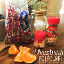 christmas potpourri gift jars firstgraderoundup