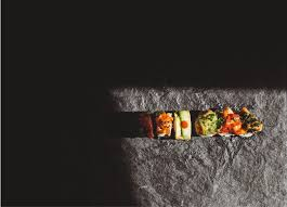 menu sushi on