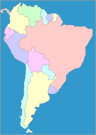 a map of south america map of south america