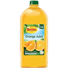 berri orange juice 2 4l woolworths