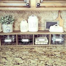 Ideas For Decorating Kitchen Countertops Lovely Kitchen Counter Storage Ideas Inspiration Home Decoration