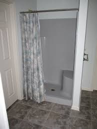 bathroom shower stalls ideas bath shower fiberglass shower stalls with pattern curtains and